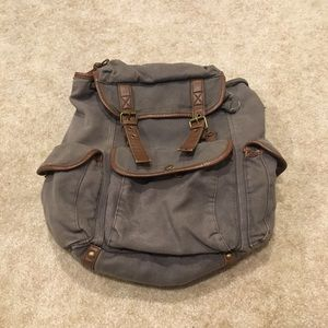 Free People canvas backpack!